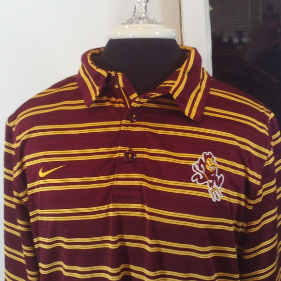 Nike Other - Nike Team Fit Dry Arizona State Sun Devils Polo